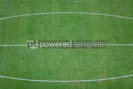 Sports : Green football (soccer) field #04585
