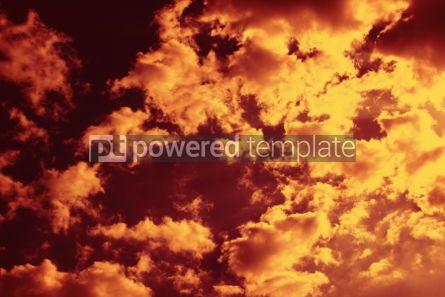Nature: Sky through burnt sienna filter #04599