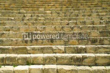 Architecture : The fragment of ancient theatre in Kourion Cyprus #04606