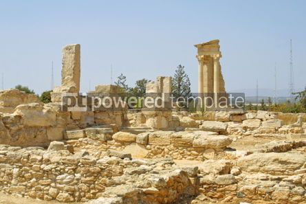 Architecture: Ruins of the Sanctuary of Apollo Hylates near Limassol Cyprus #04608