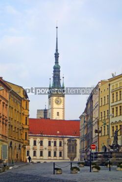 Architecture : Town Hall in Olomouc Czech Republic #04610