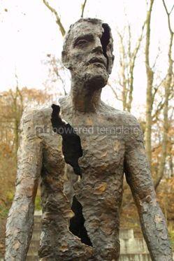 Architecture: Victims of Communism Memorial Monument in Prague Czech Republic #04611