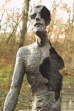 Architecture: Victims of Communism Memorial Monument in Prague Czech Republic #04612