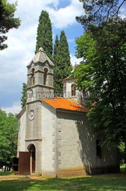 Architecture: Small church near King Nikola's summer Residence (Dvor Kralja Ni #04627