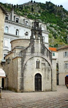 Architecture: Church of Sveti Luka (Crkva Sv.Luka) in Kotor Montenegro #04639