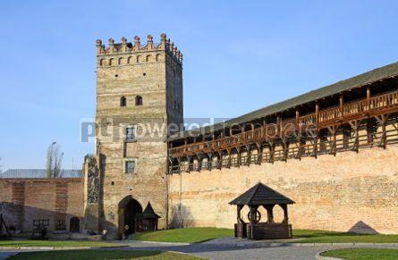 Architecture : Medieval Ljubart fortress in Lutsk Ukraine #04642