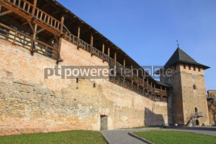 Architecture : Medieval Ljubart fortress in Lutsk Ukraine #04643