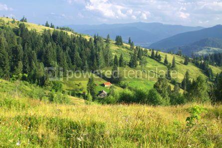 Nature: Beautiful mountains landscape in Carpathians Ukraine #04685