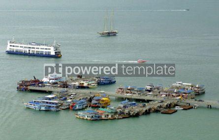 Transportation: Port of Pattaya city in Gulf of Thailand #04737