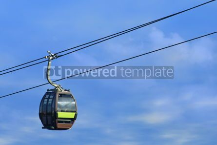 Transportation: Cableway on Langkawi island Malaysia #04746