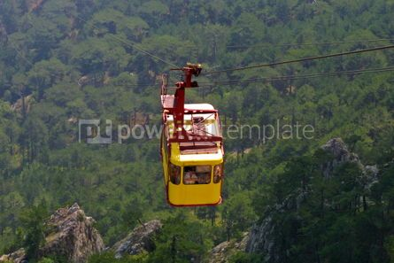 Transportation: Cable railway #04756