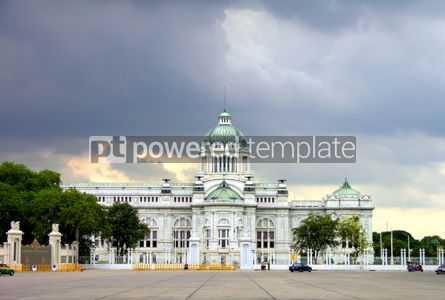 Architecture : Marble Palace in Bangkok #04762