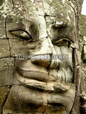 Architecture: Face of Bayon temple #04768