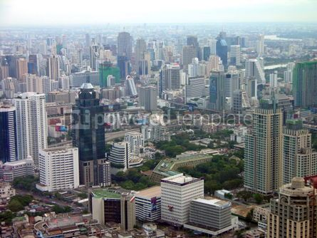 Architecture : Aerial view of Bangkok #04770