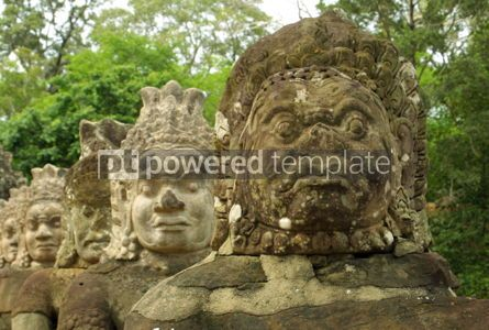Architecture : Statues of the Angkor #04774