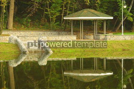 Architecture : Belvedere in autumn park #04785