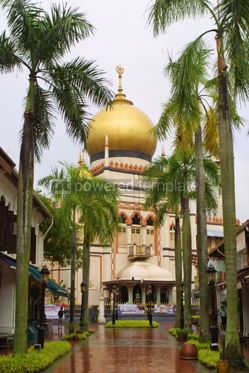 Architecture: Sultan Mosque in Singapore #04787