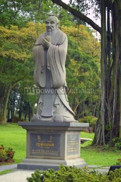 Architecture : Monument of Confucius in the Chinese Garden Singapore #04789