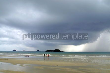 Nature: Sky before tropical thunderstorm  #04821