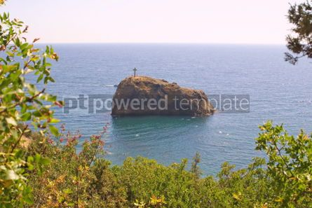 Nature: Fiolent cape in Black Sea Ukraine #04829