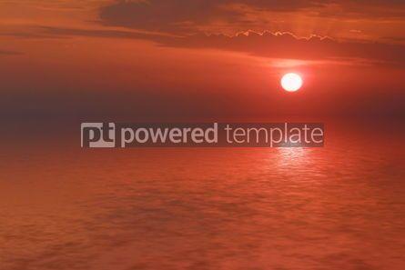 Nature: Sunrise on the seashore #04859