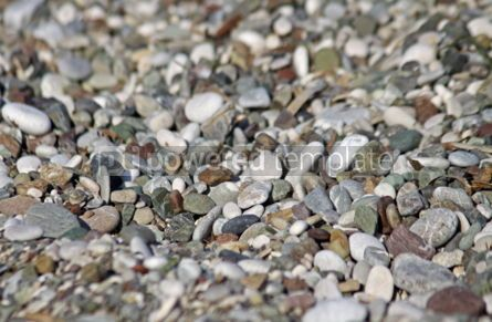 Nature: Close-up pebbles on the beach #04878