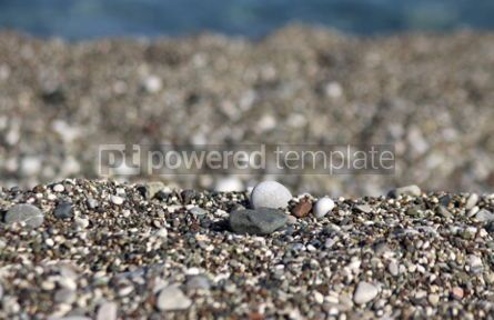 Nature: Close-up pebbles on the beach #04879
