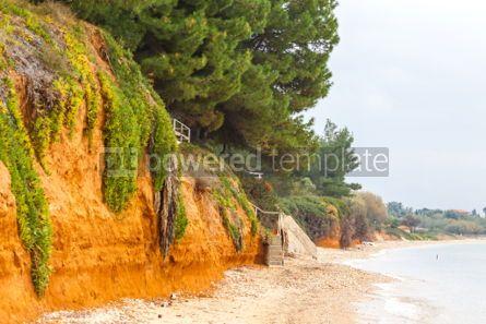 Nature: Mediterranean seacoast in winter. Halkidiki Greece #04888