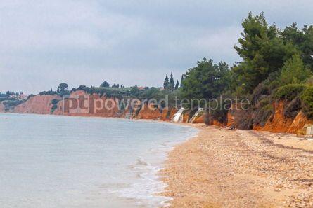 Nature: Mediterranean seacoast in winter. Halkidiki Greece #04889