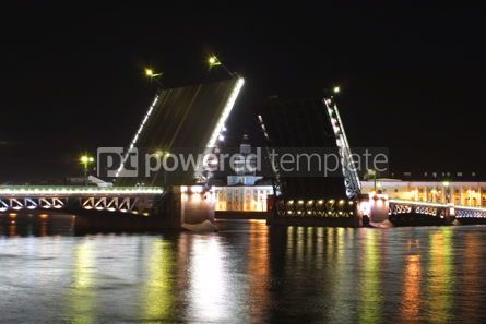 Architecture : Palace Bridge raising #04920