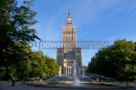 Architecture: Palace of Culture and Science in Warsaw #04922