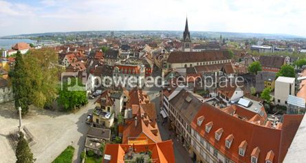 Architecture : Panoramic view of Konstanz city (Germany)  #04935