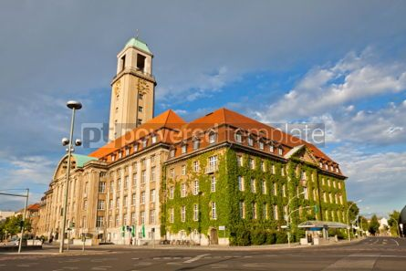 Architecture : Berlin-Spandau Town Hall (Rathaus Spandau) Germany #04961