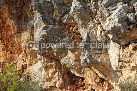 Nature: Close-up relief of the rocks #04967