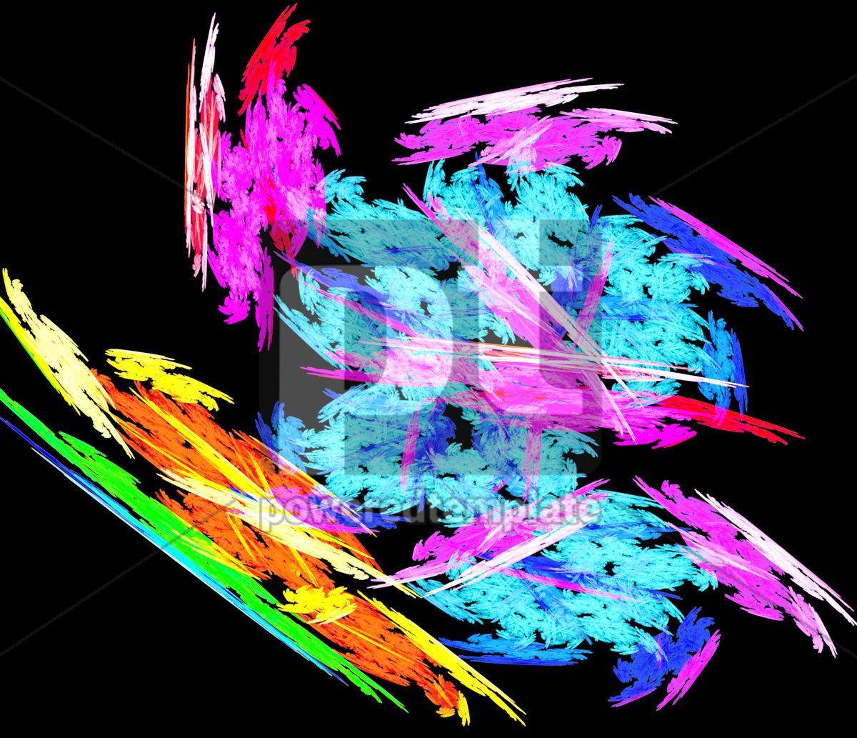 Abstract rainbow , 04983, Abstract — PoweredTemplate.com