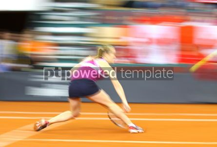 Sports : Tennis player in action #04988