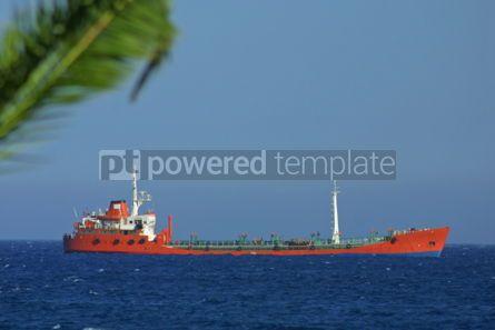 Industrial: Industrial ship in Mediterranean sea #05022