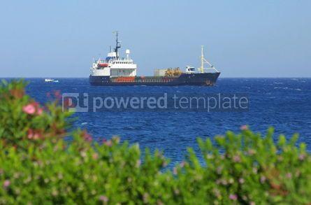 Industrial: Ship in Mediterranean sea near Cyprus #05023