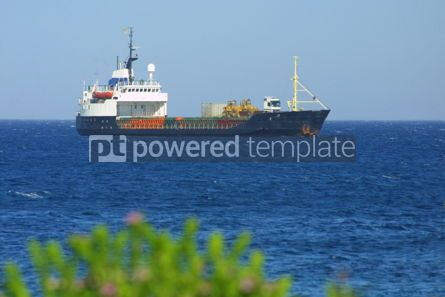 Industrial: Industrial ship in Mediterranean sea #05024
