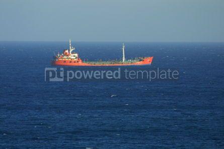 Industrial: Industrial ship in Mediterranean sea #05025