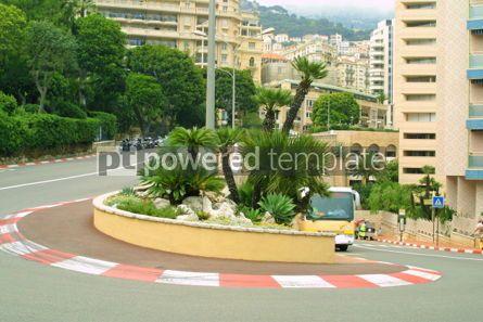 Transportation: Formula One hairpin #05034