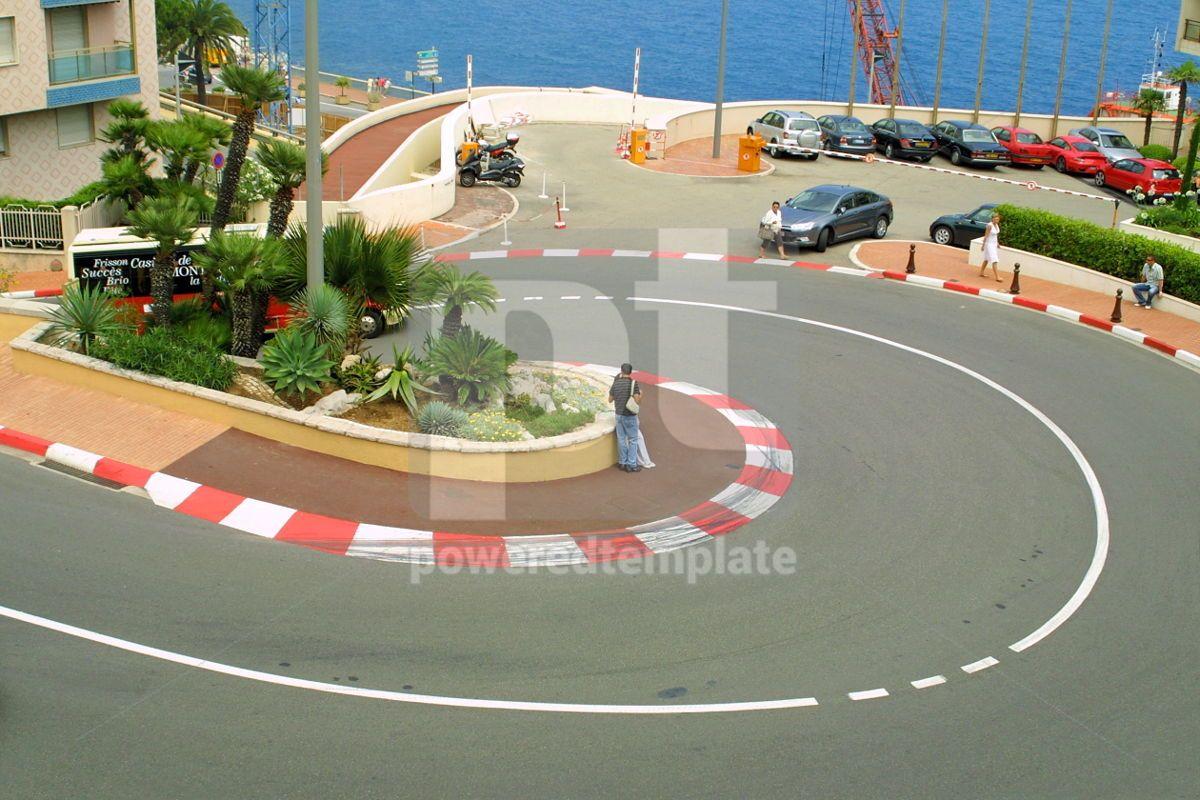 Formula One hairpin, 05035, Transportation — PoweredTemplate.com