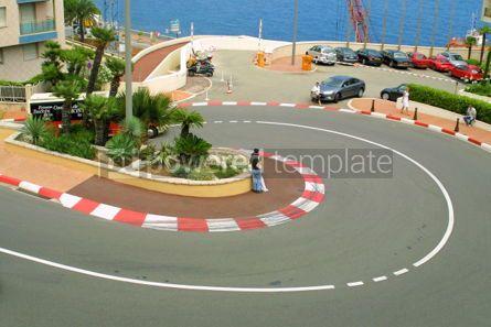 Transportation: Formula One hairpin #05035