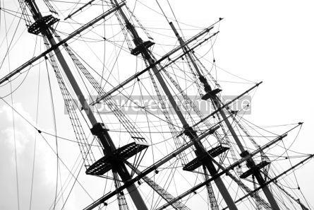 Transportation: Masts of cruise yacht #05038