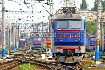 Transportation: Train on station depot #05039