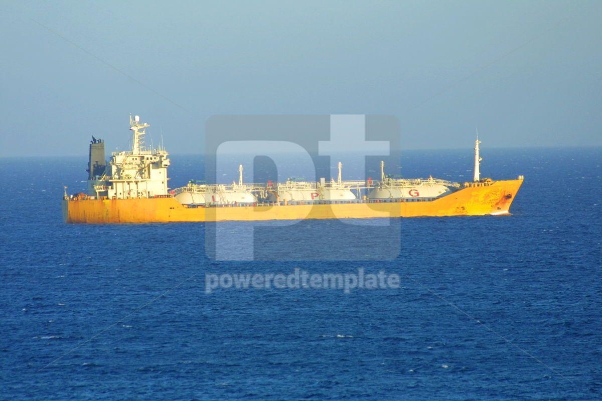 Ship in Mediterranean sea, 05042, Transportation — PoweredTemplate.com