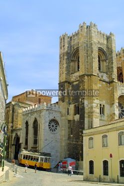Transportation:  Lisbon Cathedral #05049