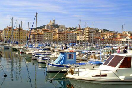 Transportation: port of Marseille #05054