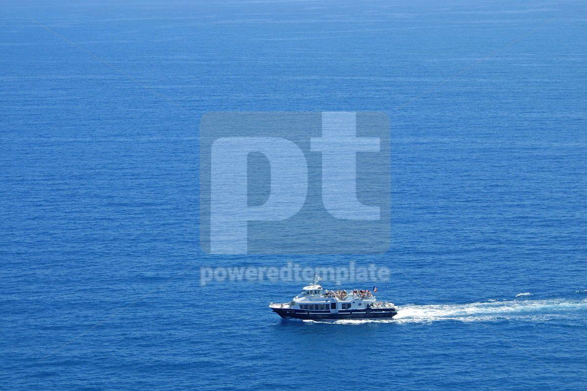 Yacht in Mediterranean Sea , 05055, Transportation — PoweredTemplate.com