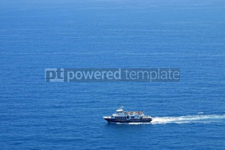 Transportation: Yacht in Mediterranean Sea  #05055